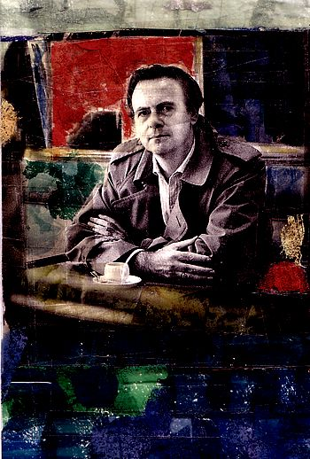 Patrick Modiano, portrait,